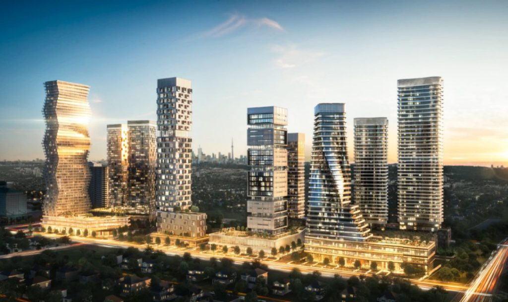 Rogers M City Mississauga render